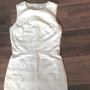 Calvin Klein White Cotton Dress